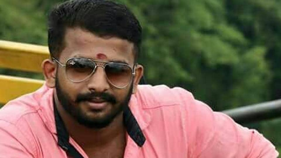 ABVP member Shyam Prasad was killed in Kerala Kannur district. (ABVPKerala Twitter)