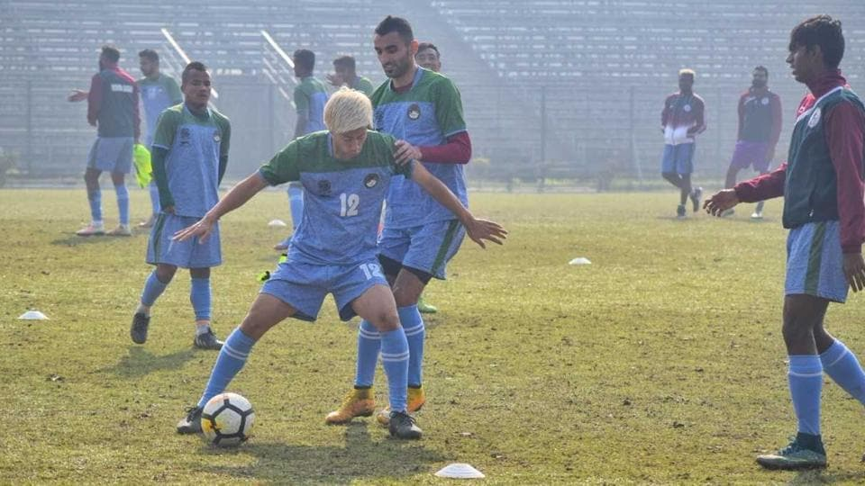 Mohun Bagan face East Bengal in the I-League Kolkata Derby on Sunday.