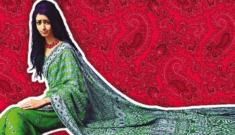 A Sari Affair,sari story,sari woes
