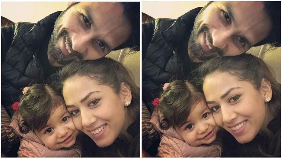 Shahid Kapoor doesn't shy away from sharing pictures of his family with his fans on social media.