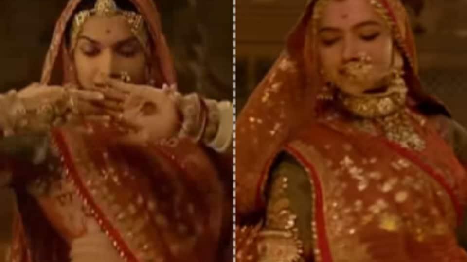 Ghoomar,Deepika Padukone,Padmaavat