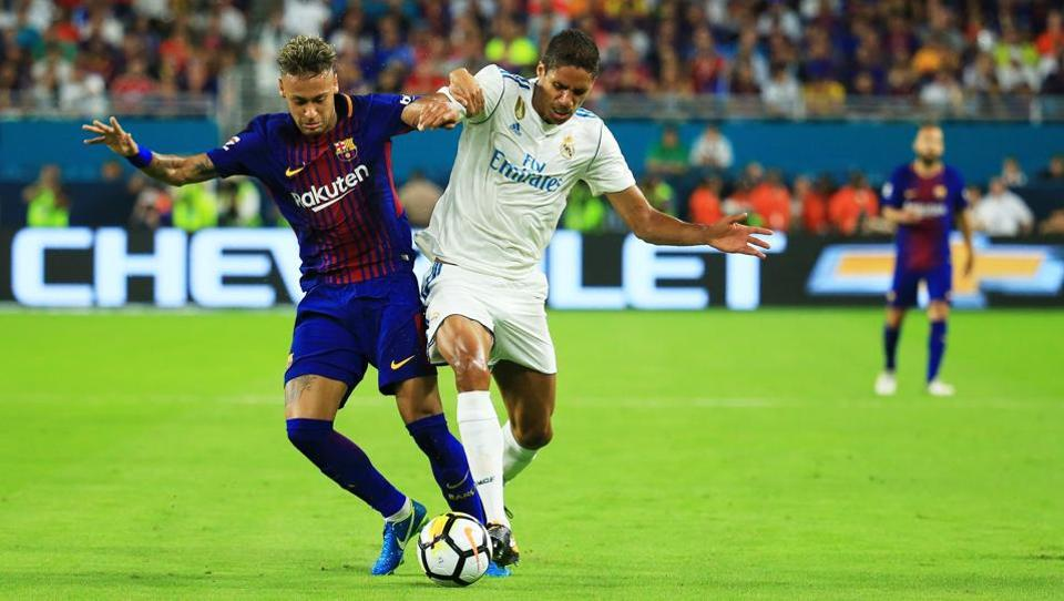 Neymar, who has so far played against Real Madrid, may now play for the La Liga club.