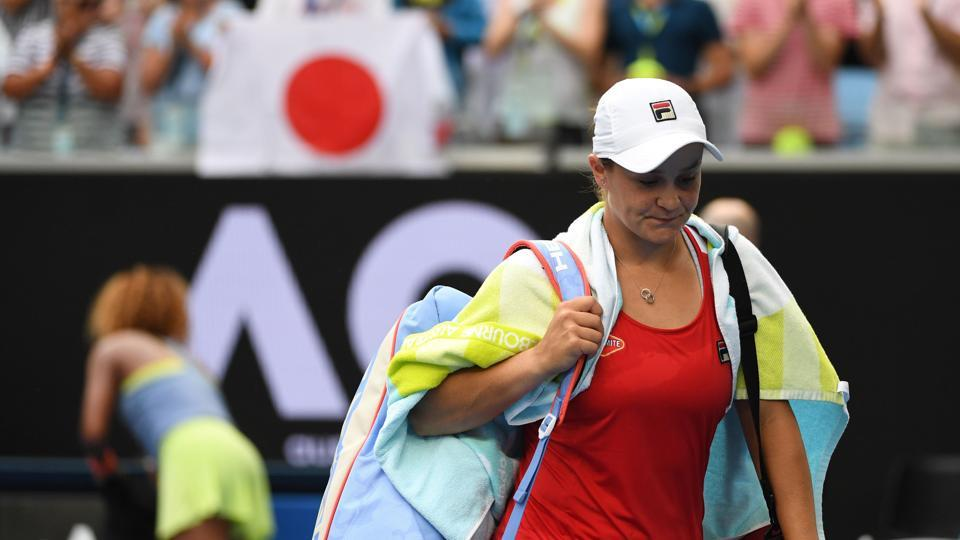 Australian Open: Ashleigh Barty's run ended by Naomi Osaka