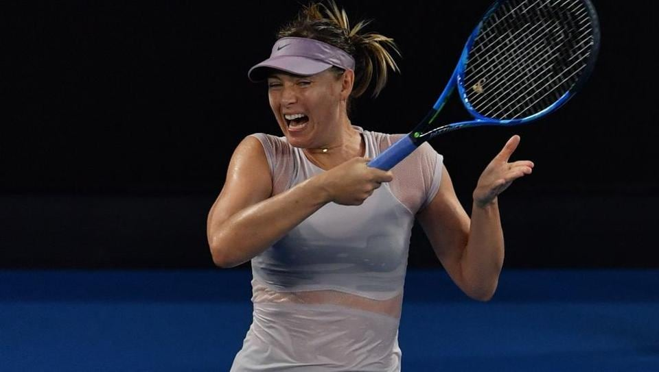 Russian tennis player Maria Sharapova has won five Grand Slam tournaments including the 2008 AustralianOpen.