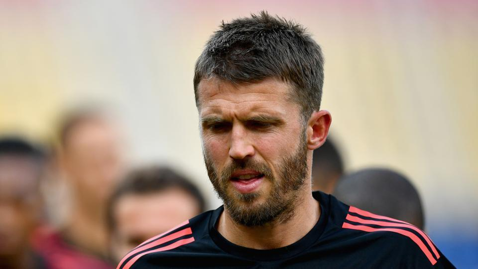 Michael Carrick resumed training for Manchester United in November but he will retire at the end of the season.