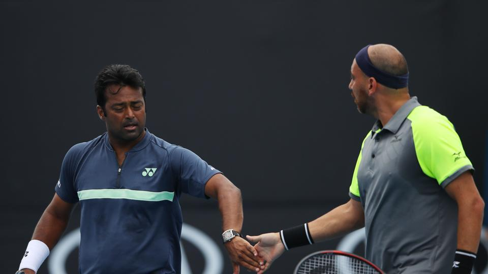 Leander Paes,Purav Raja,Australian Open