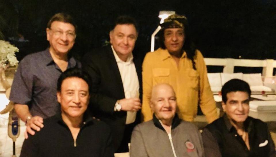 Rishi Kapoor,Danny Denzongpa,Prem Chopra