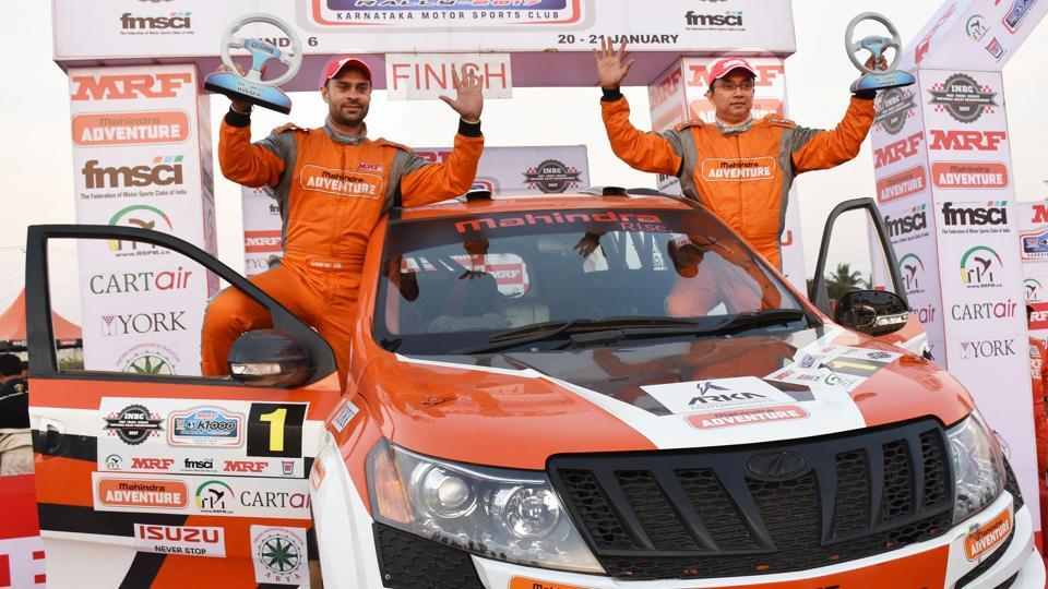Gaurav Gill,K-1000Rally,Indian National Rally Championship