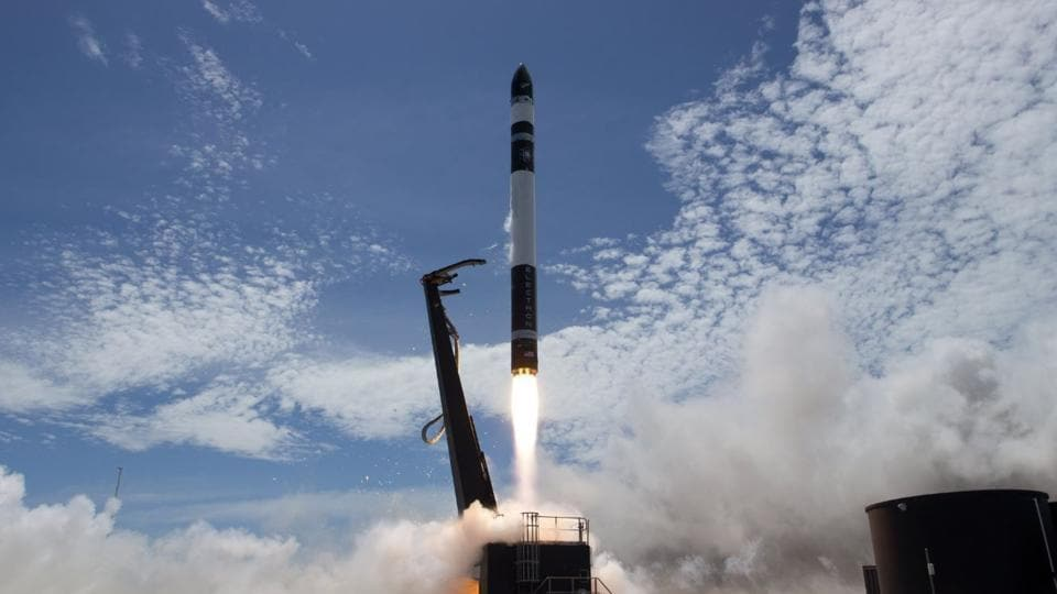 The Electron rocket, named Still Testing, took off from New Zealand's North Island.