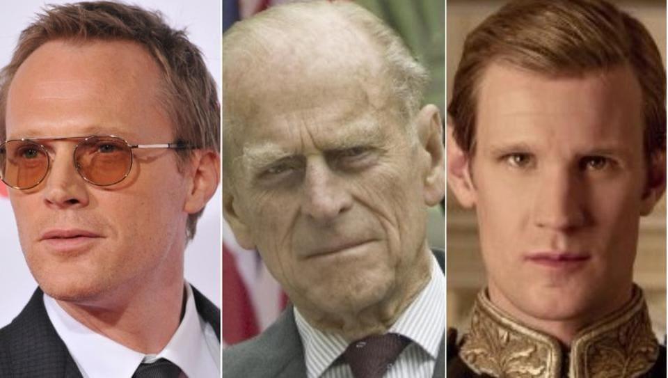 Paul Bettany,Matt Smith,Prince Philip