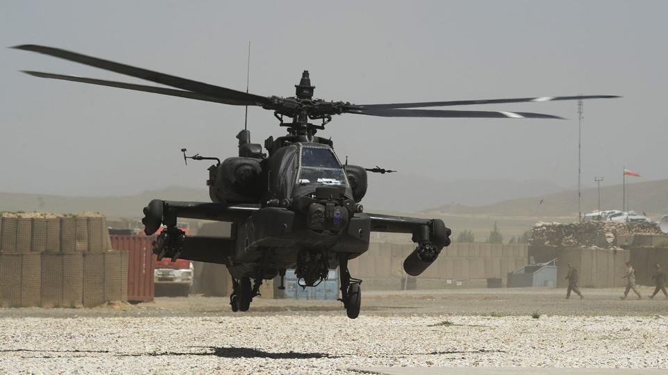 US Army,AH64 Apache helicopter,US