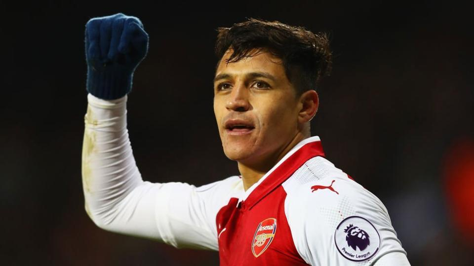Arsene Wenger had earlier said Alexis Sanchez (in pic) would only join Manchester United if Henrikh Mkhitaryan moved to Arsenal.