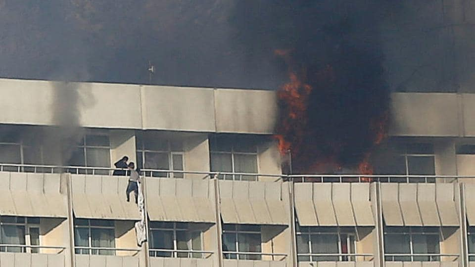 Kabul hotel attack,Kabul,Intercontinental hotel