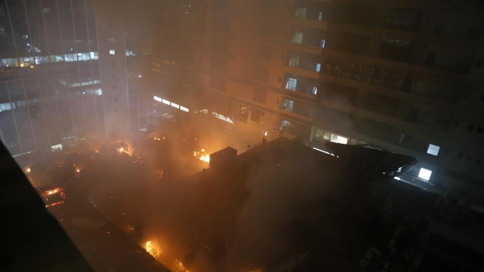 Kamala Mills,fire,Lower Parel
