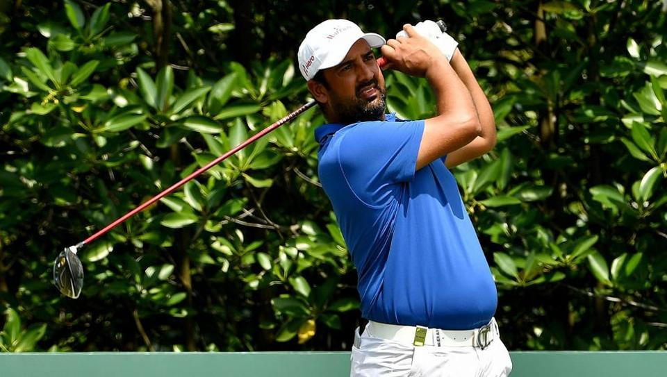 Indian golfer Shiv Kapur finished tied-23rd at the Singapore Open on Sunday.