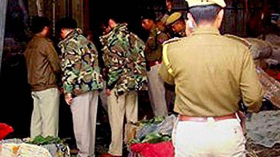 Two boys were killed when a hand grenade exploded in Manipur's Imphal East district.