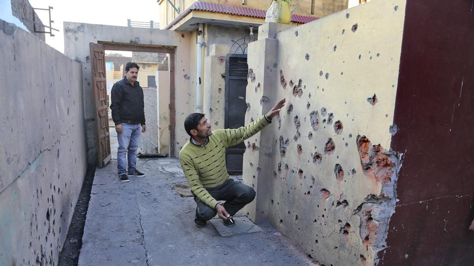 Jammu and Kashmir,Ceasefire violation,Pakistan