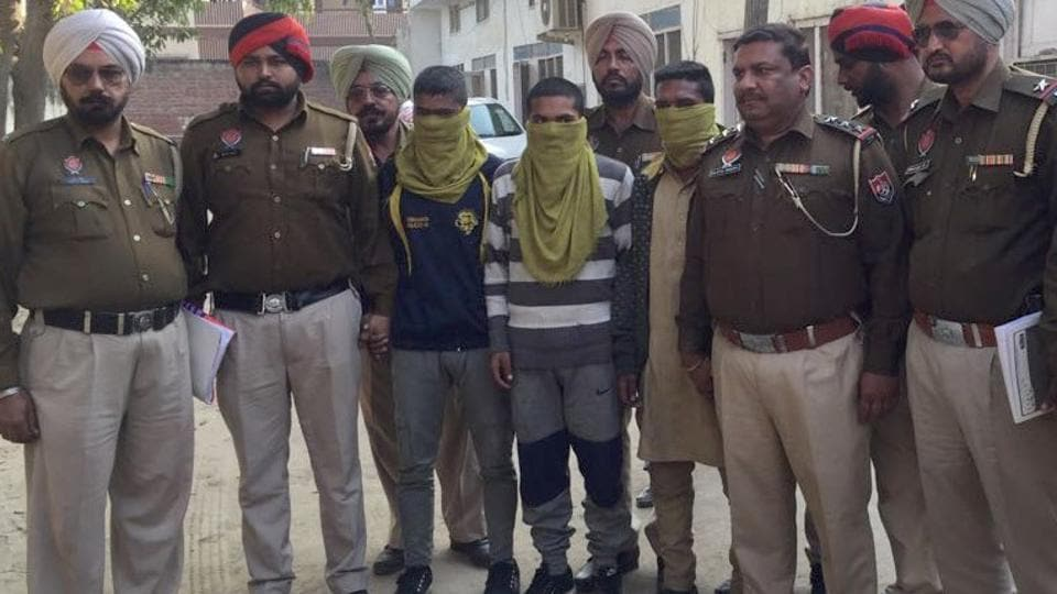 The accused were arrested from Phagwara, 11 days after the victim's mutilated body was found.