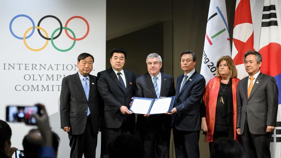 2018 Winter Olympics,Pyeongchang,North Korea