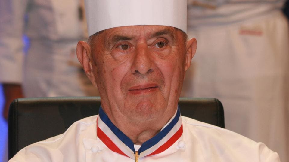 Paul Bocuse helped shake up the food world in the 1970s with the Nouvelle Cuisine revolution and create the idea of a celebrity chef.