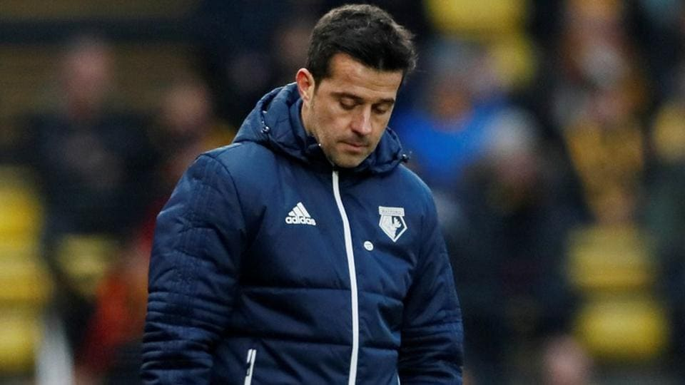 Premier League team Watford's manager Marco Silva was sacked on Sunday.