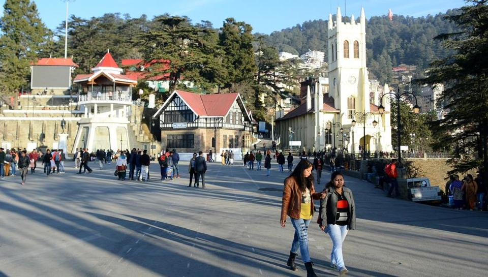 Shimla is yet to receive the season's first snowfall.