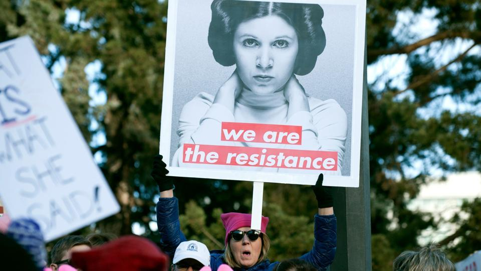 Women's March,One year of Trump,Donald Trump