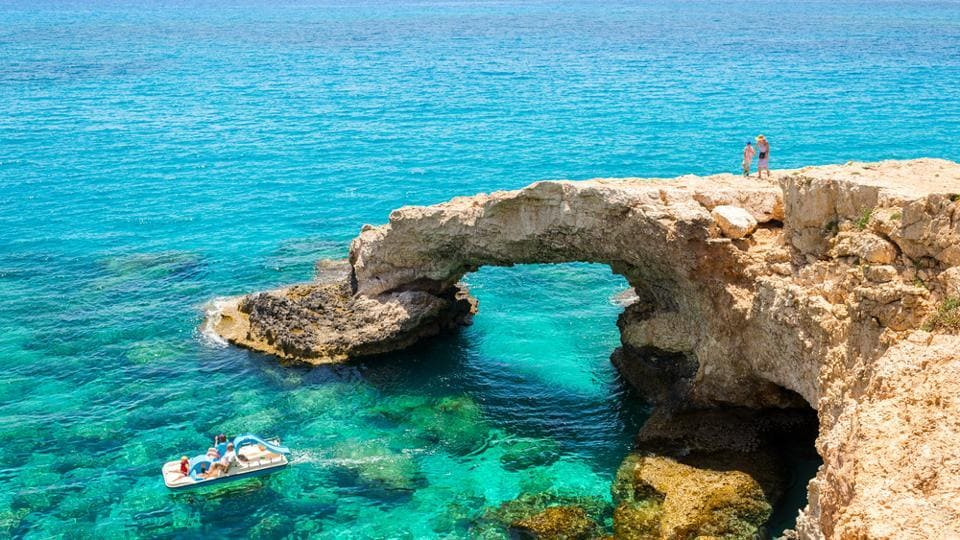 Cyprus is the mythical birthplace of the Greek goddess of love, Aphrodite.