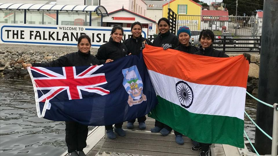 INSV Tarini,All women sailing boat,Indian Navy