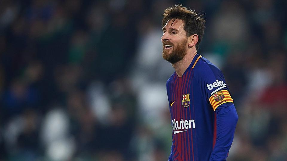 FC Barcelona's Lionel Messi has scored 19 goals in 20 La Liga games this season.