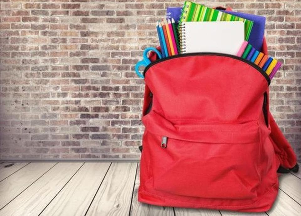 Lucknow,School bags,Students