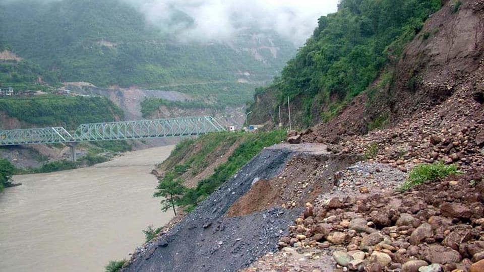 Pareechu, a tributary of the Sutlej, wreaked havoc in 2005 when a glacial lake was formed after its course was breached.