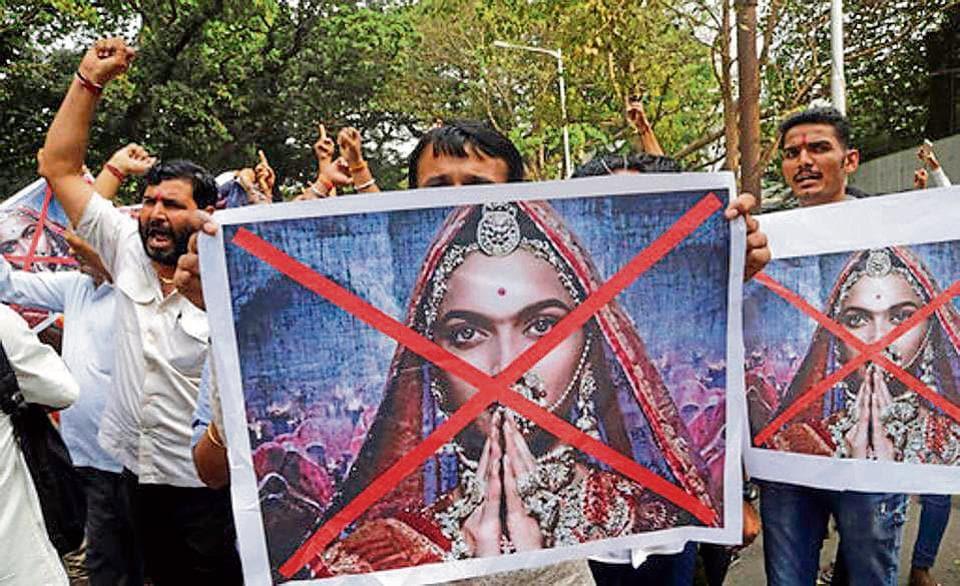 Kshatriya Mahasabha organised a protest against Padmaavat in Haridwar on Monday.