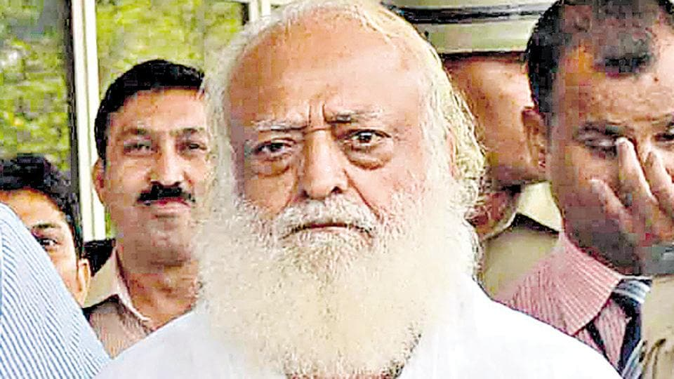 Asaram has been in a jail in Jodhpur since September 2013 after a 16-year-old girl accused him of raping her. Two months later he and his son, Narayan Sai, were booked for the alleged rape of two sisters at their ashram in Gujarat's Surat.