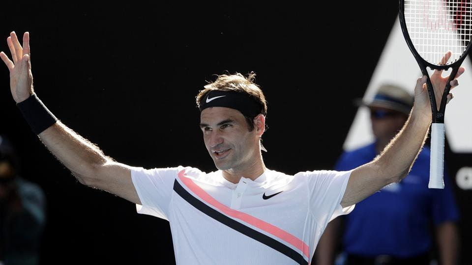 Roger Federer defeated Marton Fucsovics 6-4, 7-6 (7-3), 6-2 to advance to the quarterfinals of the Australian Open tennis tournament.