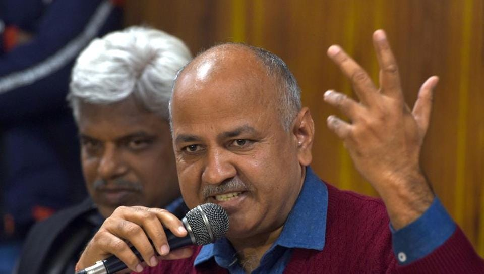 AAP,Arvind Kejriwal,Manish Sisodia