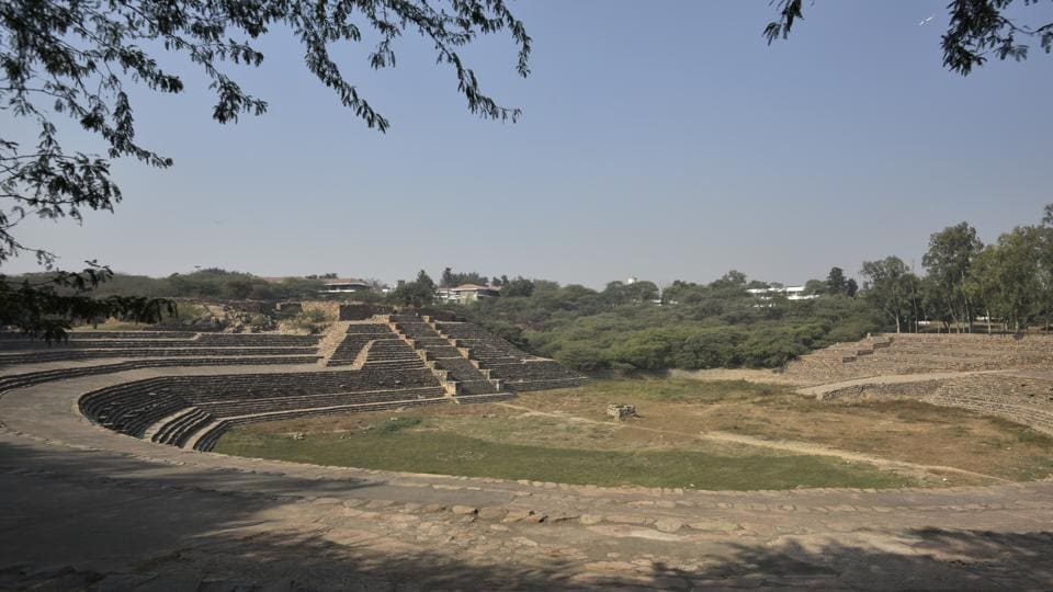 Surajkund is an ancient reservoir in Faridabad, Haryana, said to be built by King Surajpal of the Tomar dynasty.
