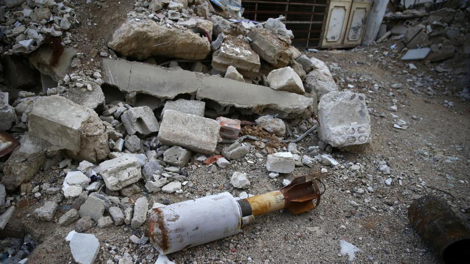 Turkey,Syria,Rocket hits Turkish camp