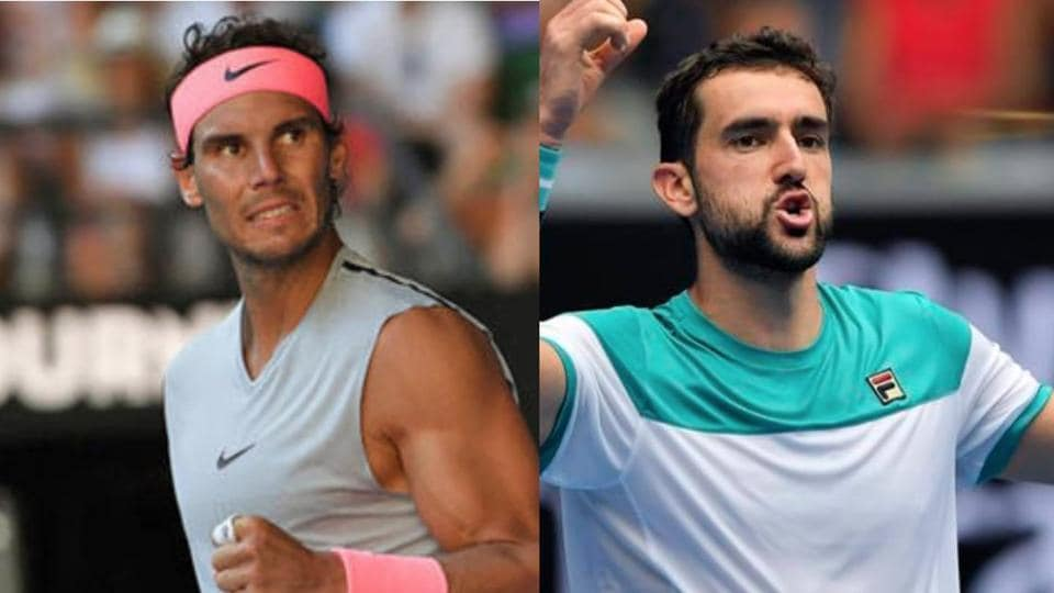 Rafael Nadal will take on Marin Cilic in the quarter-finals of the Australian Open tennis tournament.