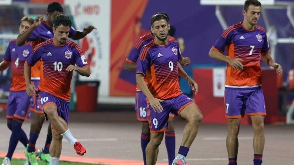 FCPune City face Jamshedpur FCin their Indian Super League encounter on Wednesday.