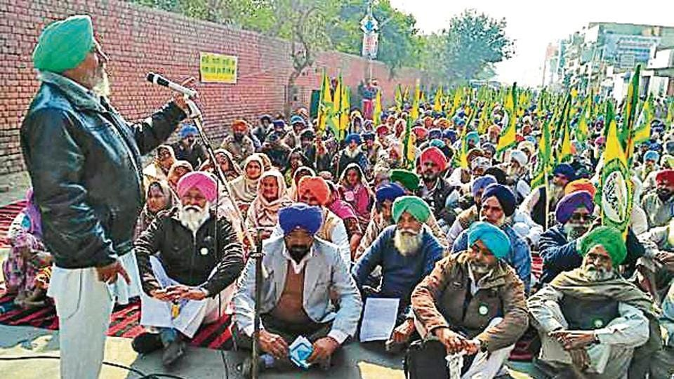 Punjab farmers,5-day protest,complete loan waiver