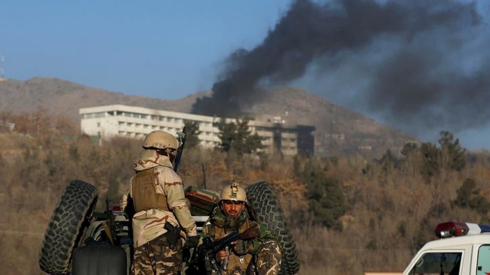 Kabul attack,Intercontinental Hotel,Afghan Taliban