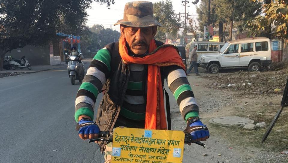 Uttarakhand news,Cycle,Bhupendra Singh Mehra