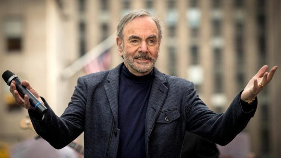 File photo of singer Neil Diamond performing on NBC's Today show in New York, US, on October 20, 2014.