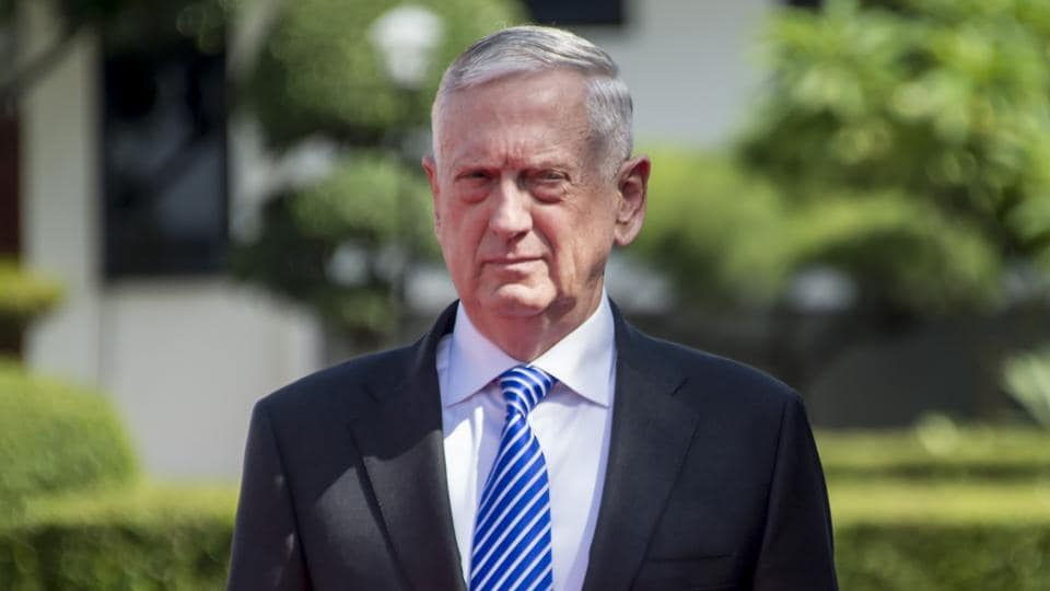 US Defense Secretary Mattis Meets with Indonesian Defense Minister Ryacudu