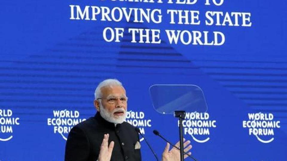 Rahul Gandhi,Davos summit,PM Modi