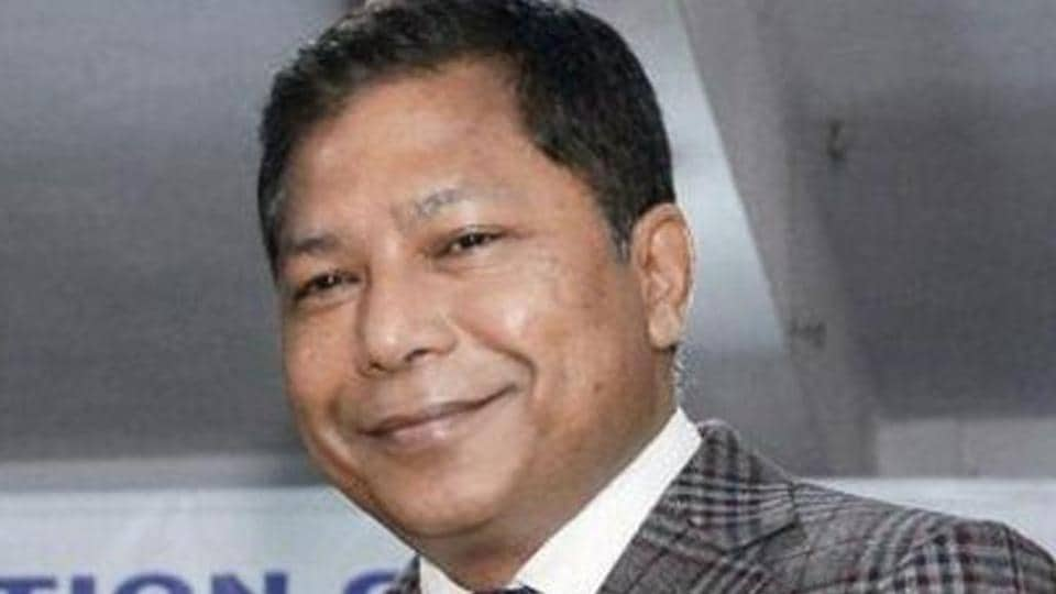 Meghalaya chief minister Mukul Sangma. Congress sources said the party was finding it difficult to get candidates in certain constituencies, especially those where the Congress MLAs had quit and joined the National People's Party (NPP) or the BJP.