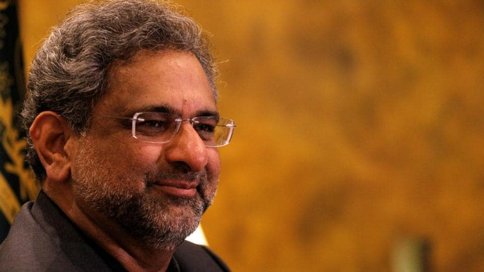 Pakistan Prime Minister Shahid Khaqan Abbasi during an interview with Reuters in Islamabad on January 22, 2018.