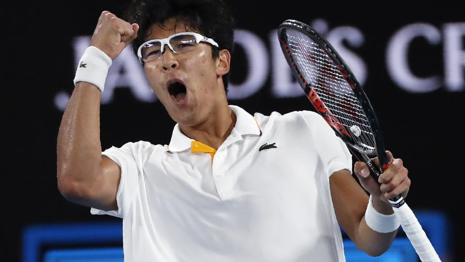 Chung Hyeon Stuns Novak Djokovic At Australian Open Watch Highlights Tennis Hindustan Times