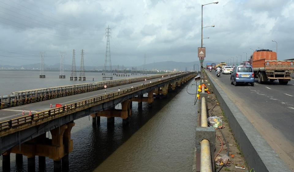 Mumbai,vahsi,bridge